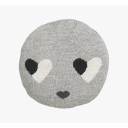 Lucky Boy Sunday - Chair Pillow - Sweetheart Grey
