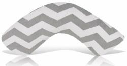 Luna Lullaby -  Nursing Pillow Grey Chevron