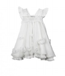 Luna - Cloudine Dress - Cloud 6M