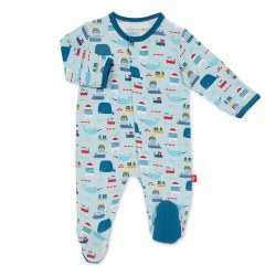 Magnetic Me - Modal Magnetic Footie Oh Bouy Newborn