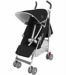 MaClaren -  Quest Stroller Black/Silver