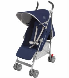 MaClaren -  Quest Stroller Blue/Silver