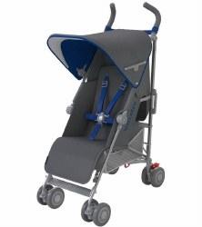 MaClaren -  Quest Stroller Charcole/Blue