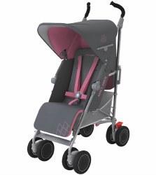 MaClaren -  Techno Xt Stroller Charcoal/Rose