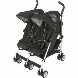 MaClaren -  Twin Triumph Stroller BMW Black