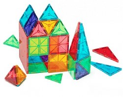Magnatiles - Magna-Tiles Clear Colors - 100p