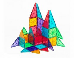 Magnatiles - Magna-Tiles Clear Colors - 32pc