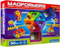 Magformers - Rainbow 30 Pc Set