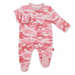 Magnetic Me - Modal Magnetic Footie Camo Pink NB