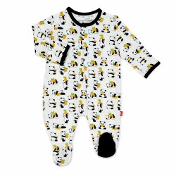 Magnetic Me - Modal Magnetic Footie Pudgy Pineapple Newborn