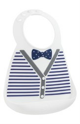 Make My Day - Silicone Bib - Little Gentleman