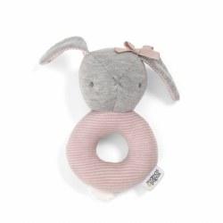 Mamas & Papas -  Grabber Bunny Rattle - Pink