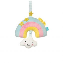 Manhattan Toys - Lullaby Musical Pull Toy - Cherry Rainbow