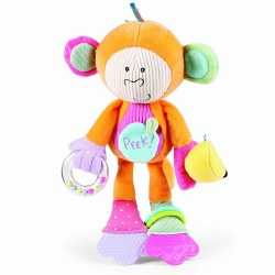 Manhattan Toys - Peek Squeak - Monkey