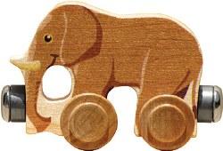 Name Train -  Elmer Elephant