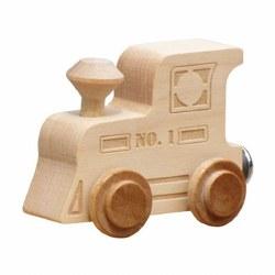 Name Train -  Clear Finish Engine