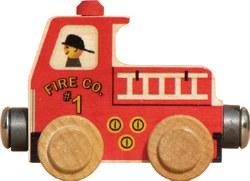 Name Train -  Fire Truck