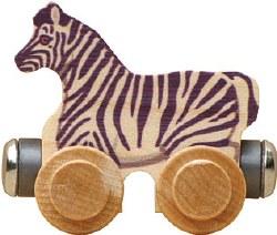 Name Train -  Zoe Zebra
