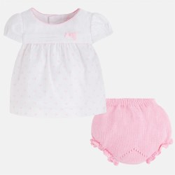 Spanish Line - Blouse Set Pink 1-2