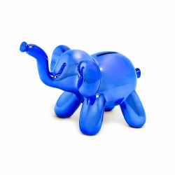 MBH - Money Bank Balloon - Elephant Blue