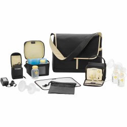 Medela - Double Electric Pump In Style Metro Bag