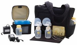 Medela - Double Electric Pump In Style OnThe Go Tote