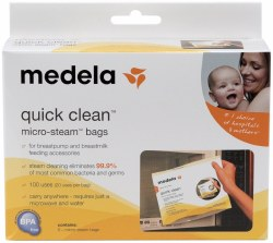 Medela - QuickClean Micro Steam Bags