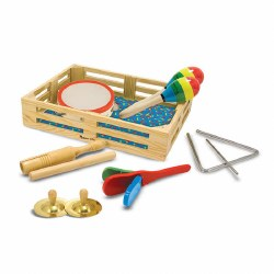 Melissa & Doug - Band in a Box Clap Clang Tap