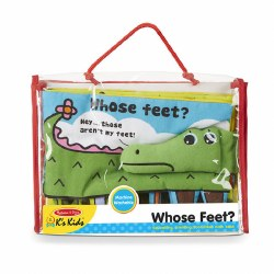 Melissa & Doug - Whose Feet? Book