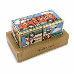 Melissa & Doug - Vehicle Sound Blocks