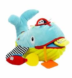N L - Activity Plush Toy - Whale