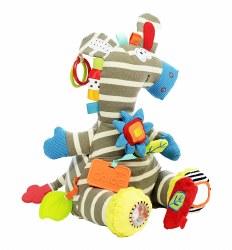 N L - Activity Plush Toy - Zebra