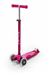 Micro Kickboard - Maxi Deluxe LED Skateboard - Pink