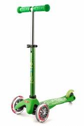 Micro Kickboard - Mini Deluxe Skateboard - Green