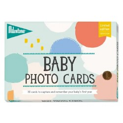 Milestone - Baby Photo Cards Cotton Candy