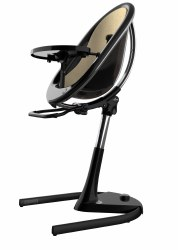 Mima - Moon 2G High Chair Black - Champagne