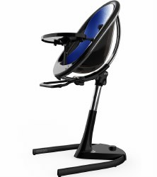 Mima - Moon 2G High Chair Black - Royal Blue