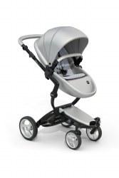 Mima - Xari Black Chassis - Argento Seat - Retro Blue Starter Pack