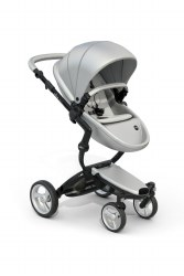 Mima - Xari Black Chassis - Argento Seat - White Starter Pack