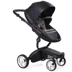 Mima - Xari Black Chassis - Black Seat - Autumn Stripes Starter Pack