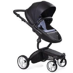 Mima - Xari Black Chassis - Black Seat - Retro Blue Starter Pack
