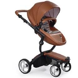 Mima - Xari Black Chassis - Camel Seat - Autumn Stripes Starter Pack