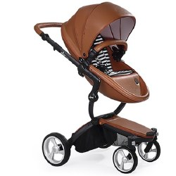 Mima - Xari Black Chassis - Camel Seat - Black & White Starter Pack