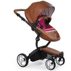 Mima - Xari Black Chassis - Camel Seat - Hot Magenta Starter Pack