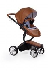 Mima - Xari Black Chassis - Camel Seat - Retro Blue Starter Pack
