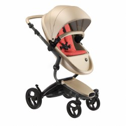 Mima - Xari Black Chassis - Champagne Seat - Coral Red Starter Pack