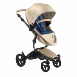 Mima - Xari Black Chassis - Champagne Seat - Denim Blue Starter Pack