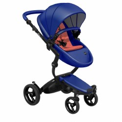 Mima - Xari Black Chassis - Royal Blue Seat - Coral Red Starter Pack