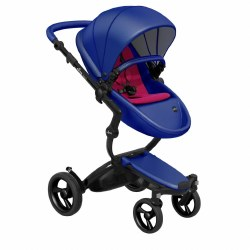 Mima - Xari Black Chassis - Royal Blue Seat - Hot Magenta Starter Pack
