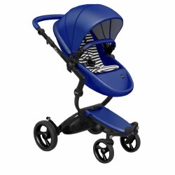 Mima - Xari Black Chassis - Royal Blue Seat - White & Black Starter Pack